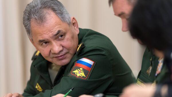 Сергей Шойгу. 17 мая 2018