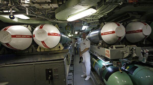 Ракеты Tomahawk на борту подлодки USS Hampton. Архивное фото