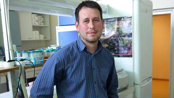 Заведующий лабораторией функциональной геномики МГНЦ Михаил Скоблов