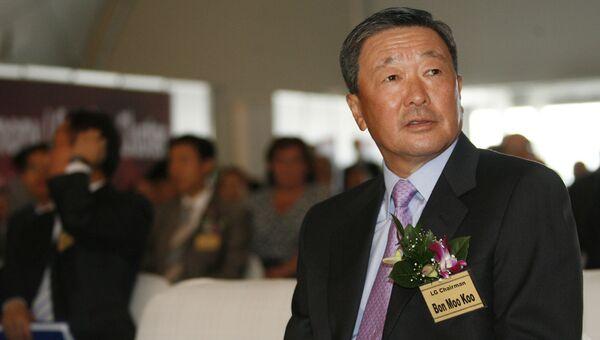 Председатель группы компаний LG Ку Бон Му. Архивное фото
