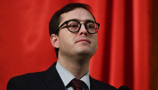 Председатель партии Альянс зеленых Александр Закондырин. Архивное фото