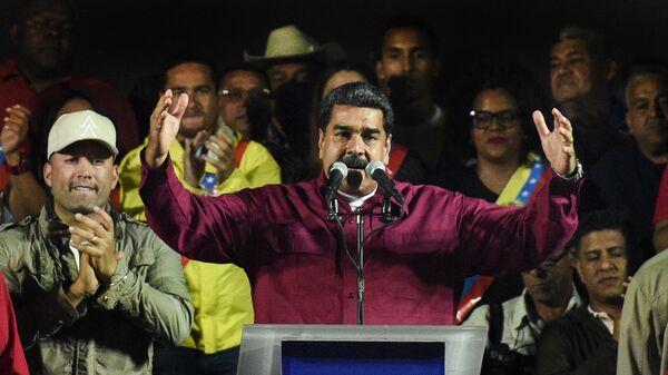 Президент Венесуэлы Николас Мадуро, архивное фото