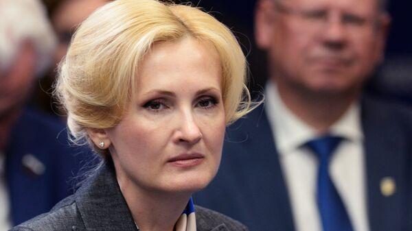 Заместитель председателя Государственной Думы Российской Федерации Ирина Яровая