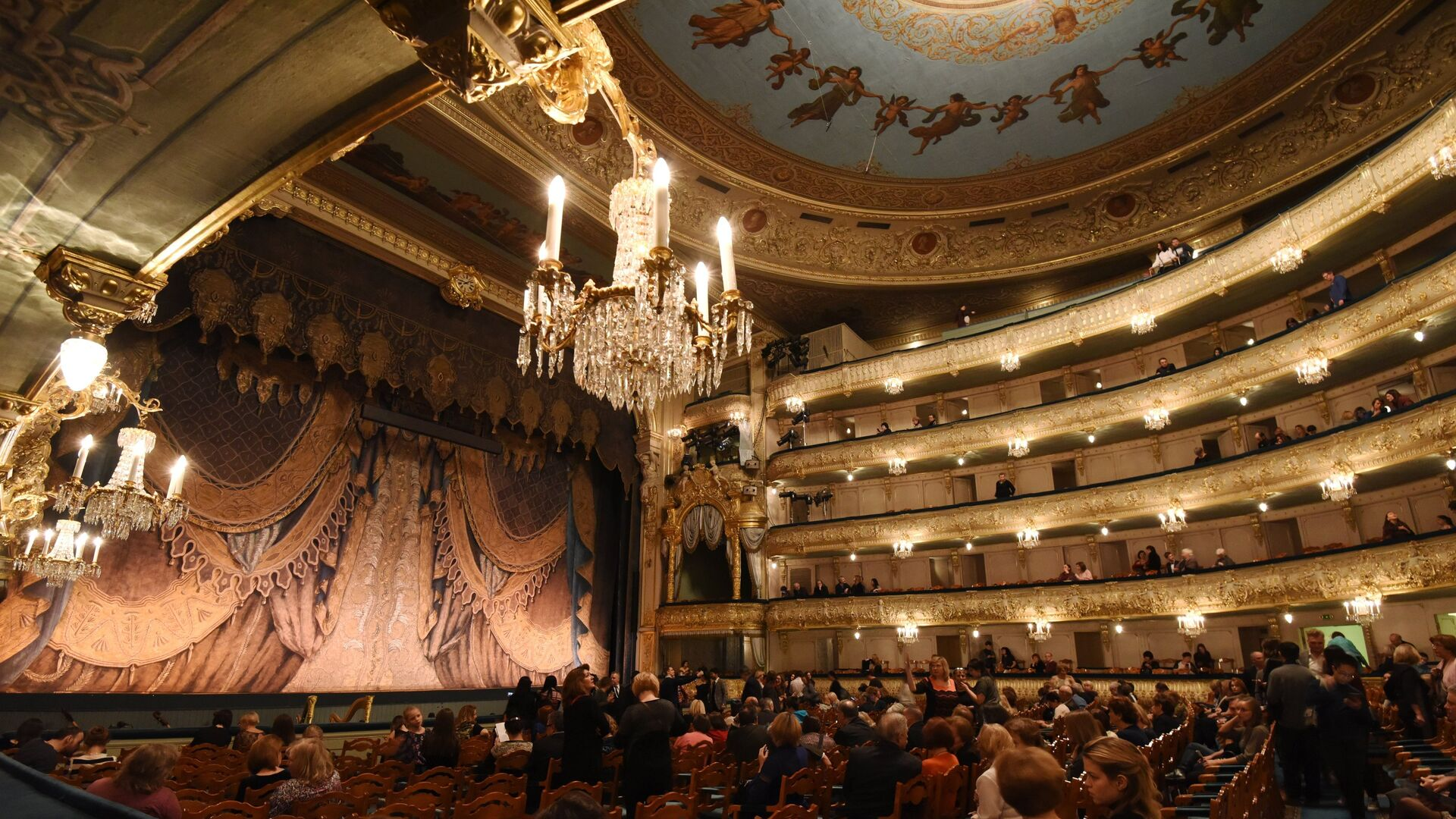 Мариинский театр в Санкт-Петербурге - РИА Новости, 1920, 29.09.2020