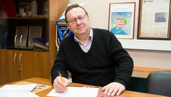 Ведущий учёный Лаборатории гибридных фотонных наноматериалов НИЯУ МИФИ, профессор Юрий Ракович