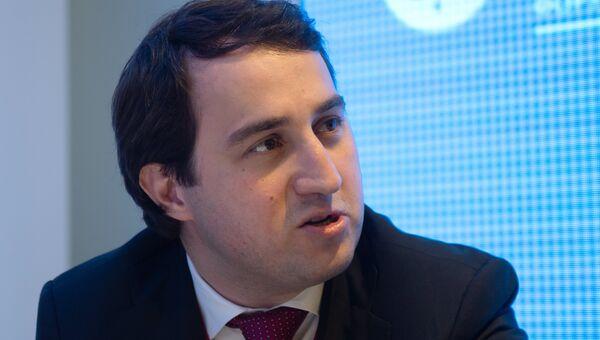 Бизнесмен Саид Гуцериев на стенде МИА Россия сегодня на Петербургском международном экономическом форуме 2018