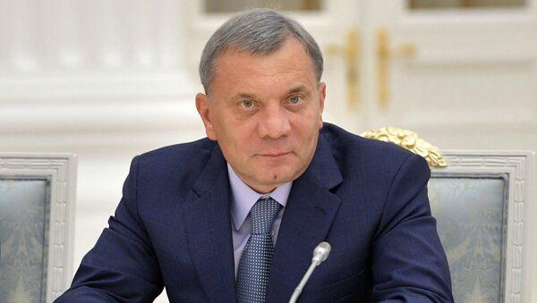 Заместитель председателя правительства РФ Юрий Борисов. Архивное фото