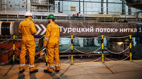 Трубопровод Турецкий поток