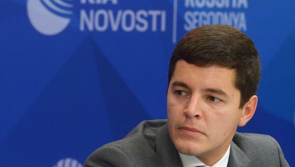 Заместитель губернатора ЯНАО Дмитрий Артюхов. Архивное фото