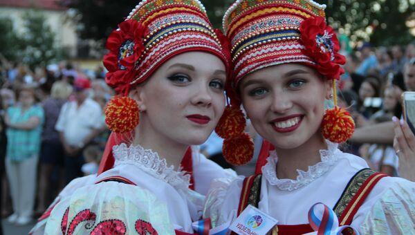Участинцы фестиваля культур в Гродно, Белоруссия