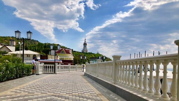 Новая набережная, село Малореченское