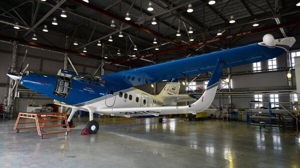 Новый легкий самолет ТВС-2-ДТС