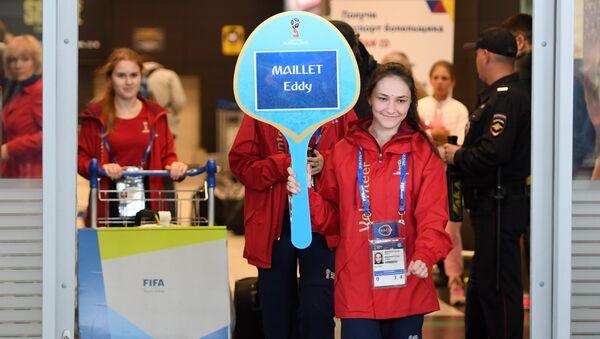 Волонтеры в Международном аэропорту Казань
