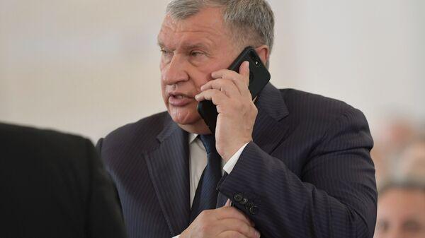 Главный исполнительный директор, председатель правления, заместитель председателя совета директоров ПАО НК Роснефть Игорь Сечин