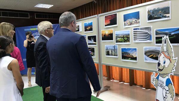 Фотовыставка Готовность №1 при участии агентства Sputnik открылась в Бейруте