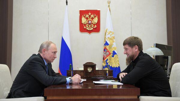 Путин проведет встречу с Кадыровым