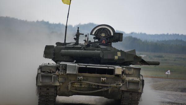 Украинские военные из 14-й волынской механизированной бригады ВСУ. Архивное фото