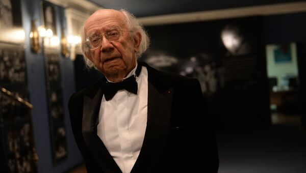 Дирижер, пианист, композитор Геннадий Рождественский. архивное фото