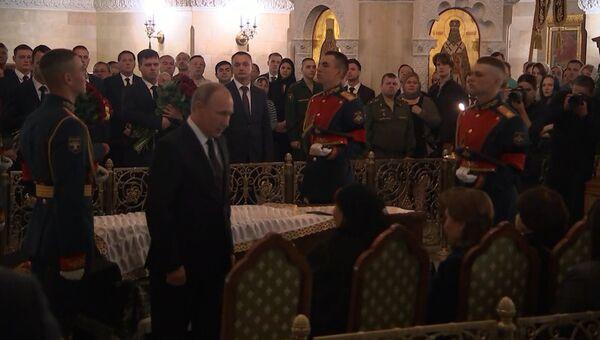 В моем сердце он останется навсегда. Путин попрощался с Говорухиным