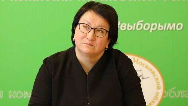 Экс-председатель Московской областной избирательной комиссии Эльмира Хаймурзина. Архивное фото