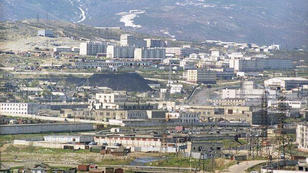 Вид на Магадан