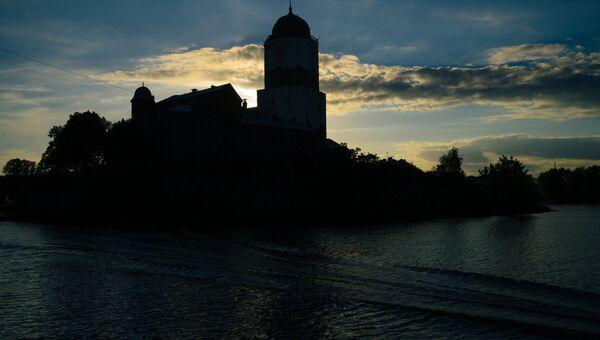 Башня Святого Олафа Выборгского замка