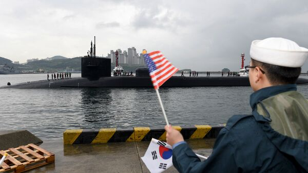 Американская подводная лодка USS Michigan
