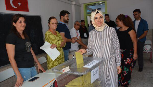 Голосование на досрочных президентских и парламентских выборах, Турция. Архивное фото