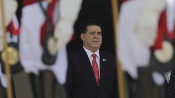 Экс-президент Парагвая Орасио Картес