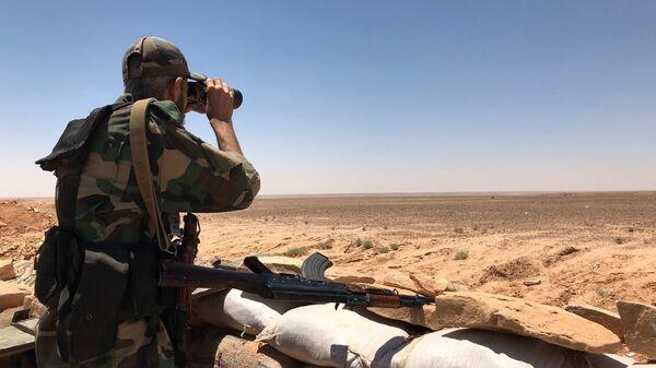 Cирийские военные. Архивное фото