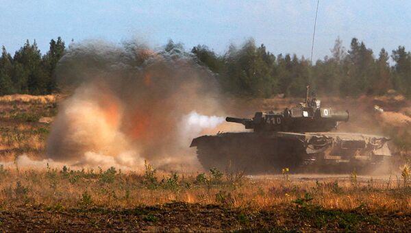 Учения танкистов. Архивное фото