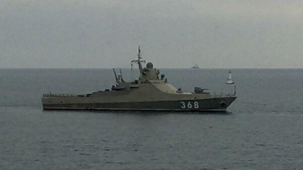 Головной патрульный корабль проекта 22160 Василий Быков. Архивное фото