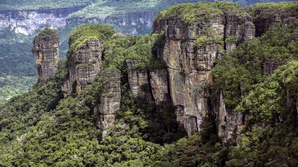 Крупнейший национальный парк Колумбии Чирибикете