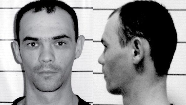 Заключенный Максим Бородулин, сбежавший из КП-33 ОИК-38 в городе Минусинск