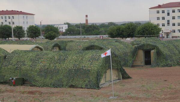 Госпиталь быстрого развертывания для второй общевойсковой армии в Поволжье