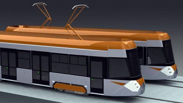 Трамвай 71-415