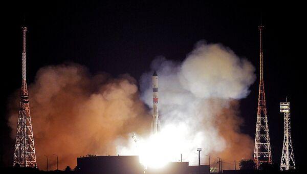 Запуск ракеты с космодрома Байконур. Архивное фото