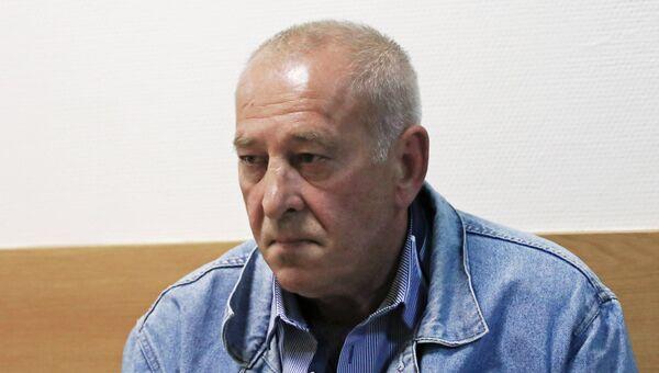 Водитель рейсового автобуса Виктор Тихонов, обвиняемый в ДТП у метро Славянский бульвар. Архивное фото