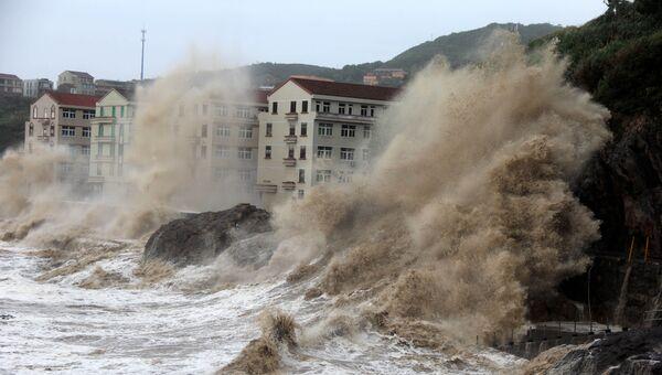Тайфун Мария. Архивное фото