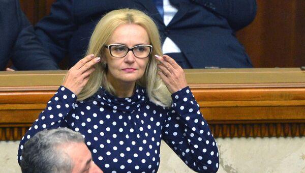 Депутат Верховной рады Украины от фракции Свобода Ирина Фарион