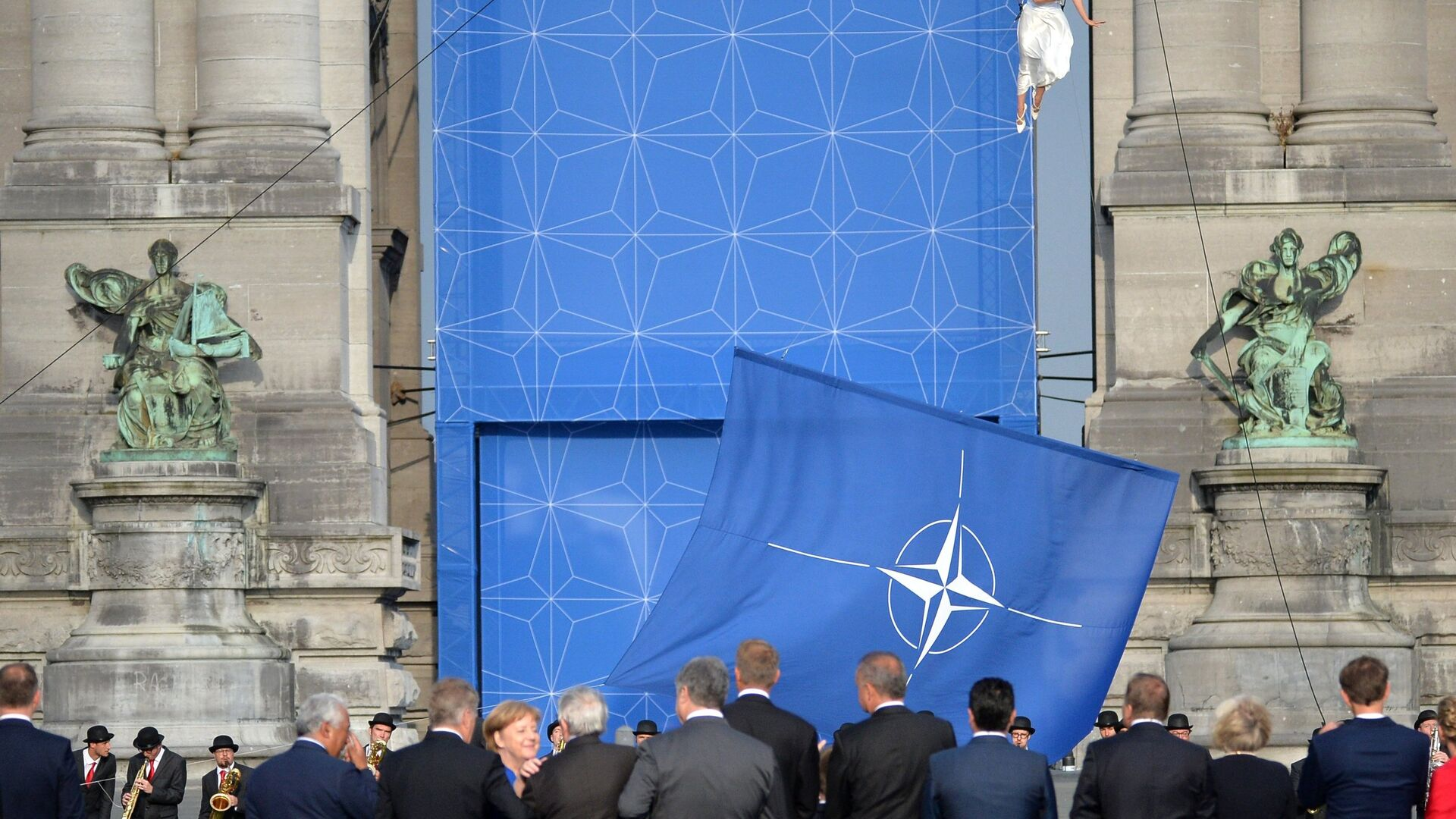 Саммит НАТО в Брюсселе - РИА Новости, 1920, 04.04.2021