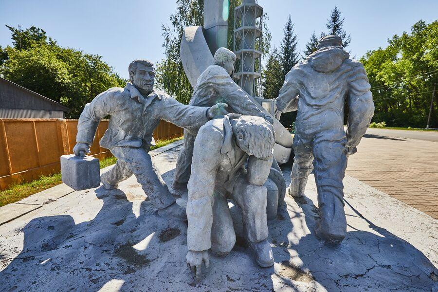 Памятник ликвидаторам последствий аварии на ЧАЭС