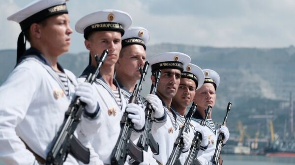 Военнослужащие ВМФ России