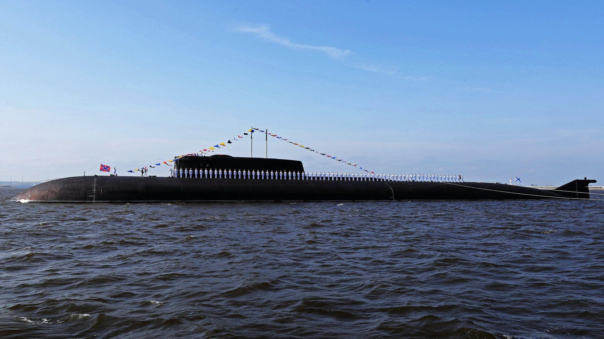 Атомныйподводныйракетоносныйкрейсер проекта949ААнтей - РИА Новости, 1920, 13.10.2020