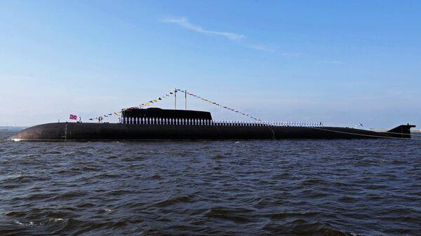 Атомныйподводныйракетоносныйкрейсер проекта949ААнтей