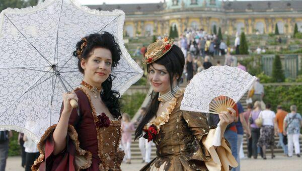 Фестиваль Ночь в Потсдамском дворце