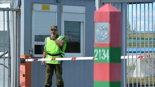На контроль-пропускном пункте Российско-Казахстанской границе