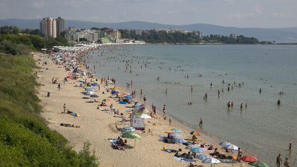 Пляж в Болгарии. Архивное фото