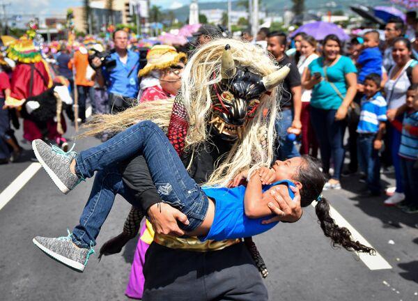 Участники фестиваля в Сан-Сальвадоре.