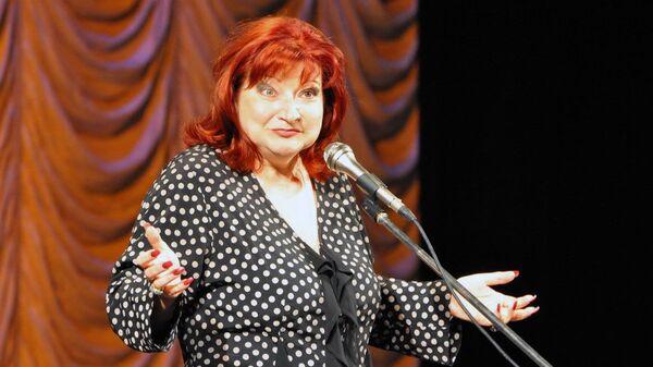 Елены Степаненко во время выступления в Московском Театре Эстрады